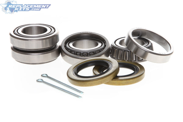 "Trailer Bearing & Seal Kit 2 Pack fits 1-1/16"" (1.062) Spindles on Axles rated for up to 2,000 lbs."