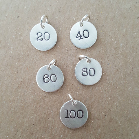 Mileage Finisher Charms