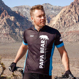 Goldilocks Papa Bear Support Rider Men's Cycling Jersey by DNA