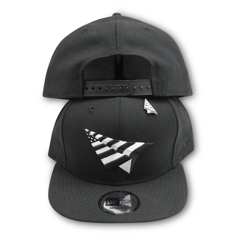 PAPER PLANES BLACK/WHITE OLD SCHOOL SNAPBACK