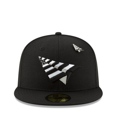 "PAPER PLANES THE ORIGINAL CROWN BLACK ""FITTED"""