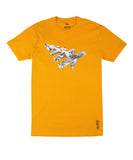 PAPER PLANES  CRYSTAL CLEAR YELLOW TEE
