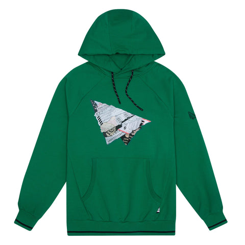 PAPER PLANES WORLD TRAVELER GREEN HOODIE