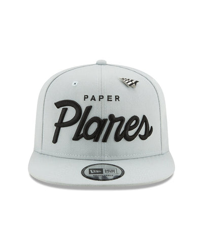 PAPER PLANES BLUEPRINT OLD SCHOOL SILVER SNAPBACK