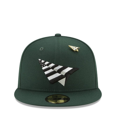 PAPER PLANES THE ORIGINAL FIELD CROWN FITTED  (GREEN)