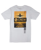 PAPER PLANES  IN-FLIGHT WHITE TEE