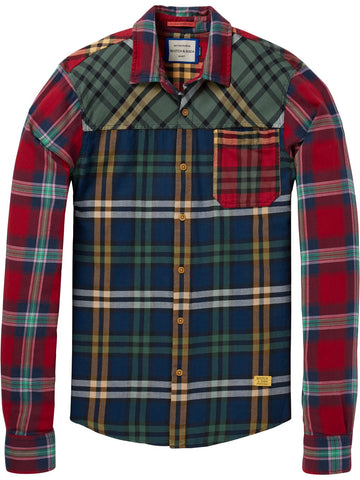 SCOTCH&SODA 145392-0217 MIX N MATCH SHIRT - 145392-0217-SCOTCH&SODA