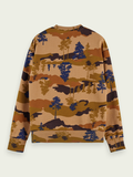 SCOTCH&SODA BLEND ALLOVER PRINT CREW