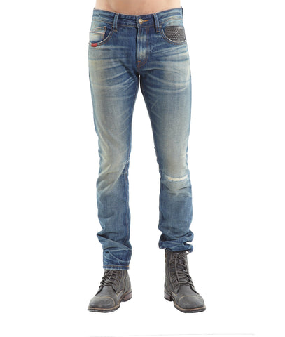 CULT ROCKER SLIM VINTAGE DENIM JEANS