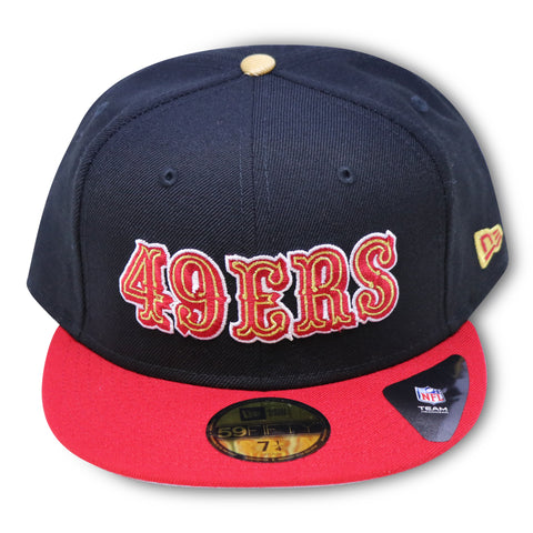 SAN FRANCISCO 49ERS NEW ERA 59FIFTY FITTED
