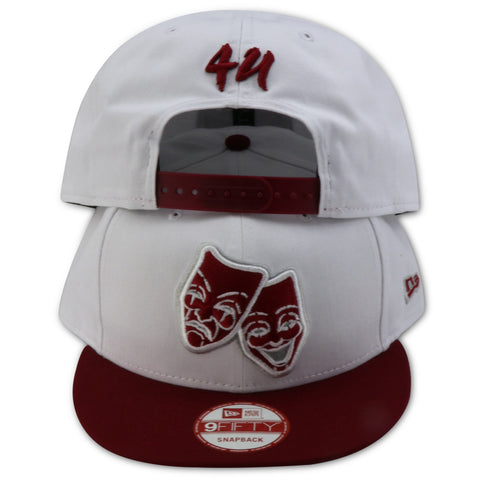 4UFACES OF LIFE NEW ERA 9FIFTY SNAPBACK (AIR JORDAN 6 RETRO ALTERNATE)