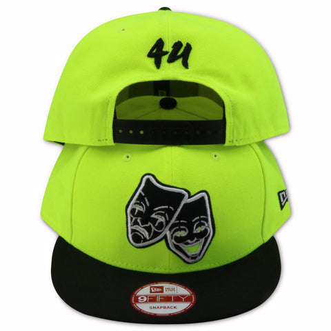 4U LOGO NEW ERA 9FIFTY SNAPBACK (VOLT/BLACK)