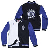 SACRAMENTO KINGS 1995-96 MITCHELL & NESS AUTHENTIC WARM UP JACKET
