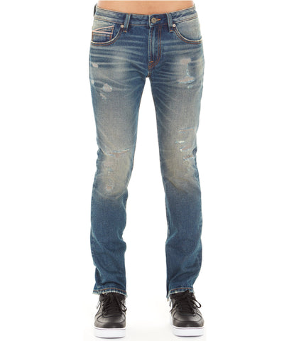 CULT ROCKER SLIM MONEY JEANS