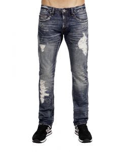 CULT REBEL STRAIGHT COMMUTER JEANS