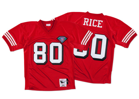 SAN FRANCISCO JERRY RICE #80 AUTHENTIC THROWBACK 1994 MITCHELL & NESS JERSEY