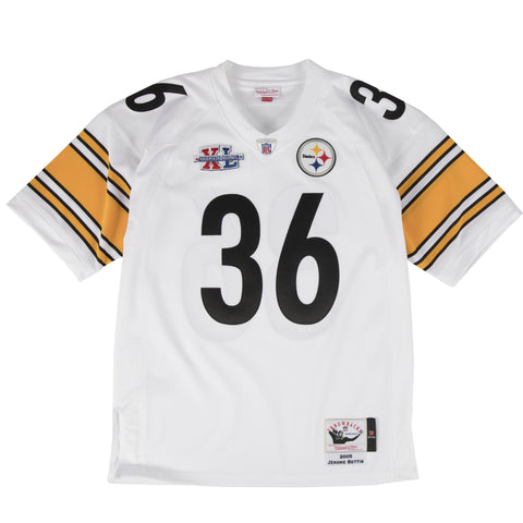 PITTSBURGH STEELERS JEROME BETTIS #36 AUTHENTIC THROWBACK 2005 MITCHELL & NESS JERSEY