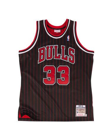 SCOTTIE PIPPEN CHICAGO BULLS MITCHELL & NESS AUTHENTIC THROWBACK 1995 JERSEY