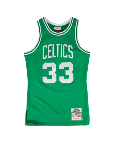 LARRY BIRD #33 MITCHELL & NESS AUTHENTIC THROWBACK 1985