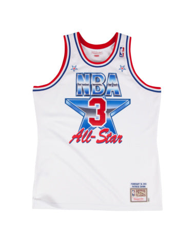 PATRICK EWING NBA #3 ALL STAR 1991 MITCHELL & NESS AUTHENTIC JERSEY