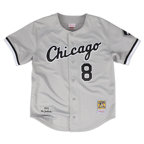 CHICAGO WHITESOX BO JACKSON #8 MITCHELL & NESS AUTHENTIC THROWBACK JERSEY