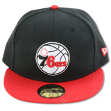 PHILADELPHIA 76ERS NEW ERA 59FIFTY FITTED (AIR JORDAN 3 RETRO TINKER)