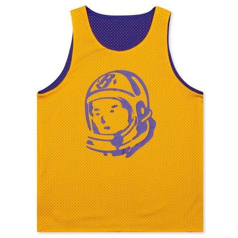 BBC CADETS TANK TOP (PURPLE/YELLOW)