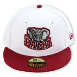 ALABAMA CRIMSON TIDE NEW ERA 59FIFTY FITTED (AIR JORDAN 6 RETRO)