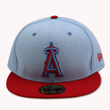 ANAHIEM ANGELS NEW ERA 59FIFTY FITTED (AIR JORDAN 4 RETRO CACTUS JACK)