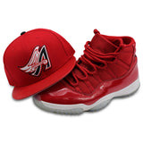 ANAHEIM ANGELS NEW ERA 59FIFTY FITTED (AIR JORDAN 6 RETRO WIN LIKE 96)