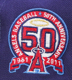 "ANAHIEM ANGELS ""50TH ANNIVERSARY"" NEW ERA 59FIFTY FITTED"