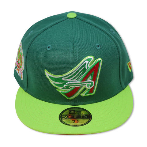 "ANAHIEM ANGELS ""50TH ANNIVERSARY"" NEW ERA 59FIFTY FITTED (RED BOTTOM)"