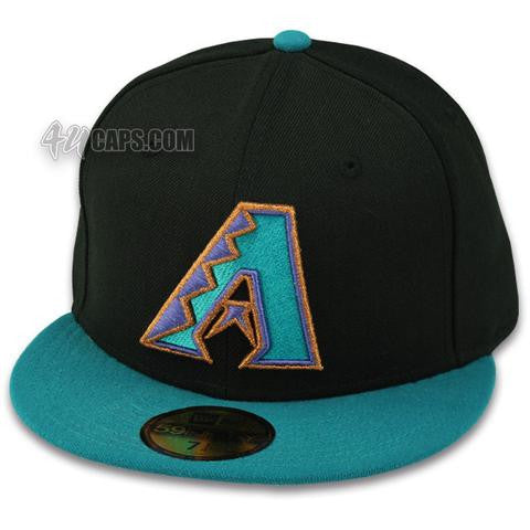 ARIZONA DIAMONDBACKS 1998 ROAD NEW ERA 59FIFTY FITTED