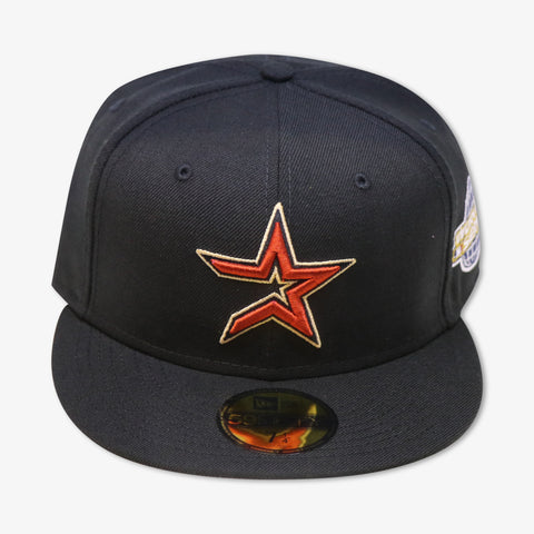 "HOUSTON ASTROS ""2005 WORLDSERIES"" NEW ERA 59FIFTY FITTED (GREY BOTTOM)"
