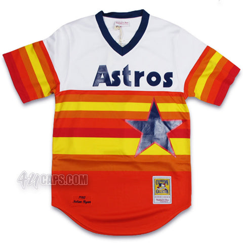 NOLAN RYAN 1980 AUTHENTIC HOUSTON ASTROS JERSEY  BY MITCHELL & NESS