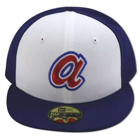 ATLANTA BRAVES 1972-1981 GAME NEW ERA 59FIFTY FITTED