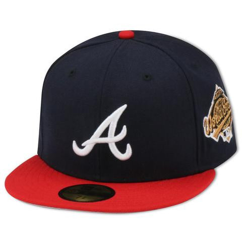 ATLANTA BRAVES 1995 WORLD SERIES NEW ERA 59FIFTY FITTED