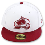 COLORADO AVALANCHE 59FIFTY NEW ERA FITTED (AIR JORDAN 6 RETRO ALTERNATE)