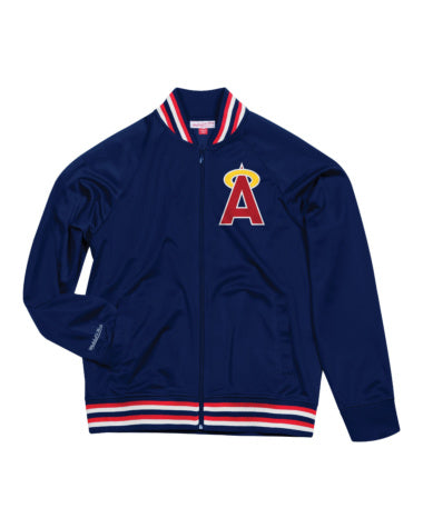 CALIFORNIA ANGELS TOP PROSPECT MITCHELL & NESS TRACK JACKET