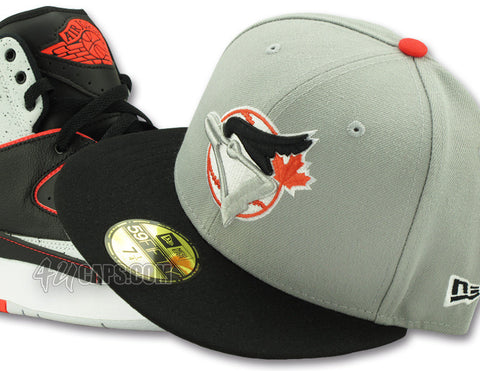 TORONTO BLUE JAYS NEW ERA 59FIFTY FITTED (AIR JORDAN 2 INFRARED/SPECKLE)
