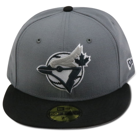 TORONTO BLUE JAYS NEW ERA 59FIFTY FITTED (AIR JORDAN RETRO 8 COOL GREY)