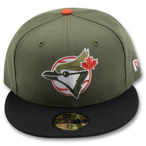 TORONTO BLUE JAYS NEW ERA 59FIFTY FITTED (AIRMAX 95 OG OLIVE/ORANGE)