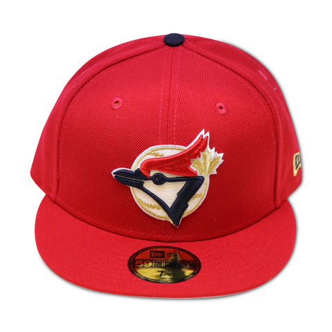 TORONTO BLUE JAYS RED NEWERA 59FIFTY FITTED