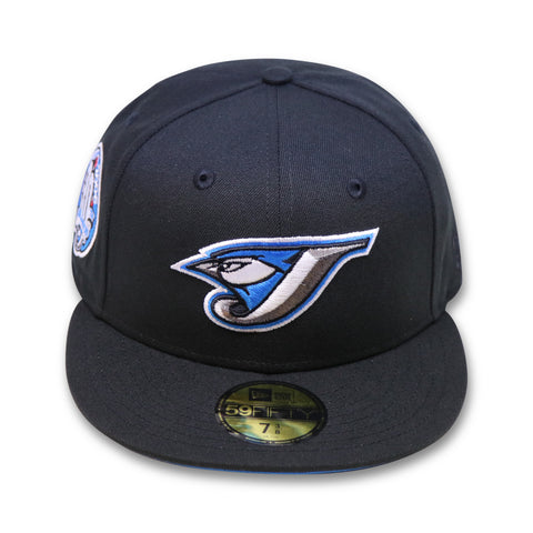 "TORONTO  BLUE JAYS ""30TH SEASON"" NEW ERA 59FIFTY FITTED (BLUE BOTTOM)"
