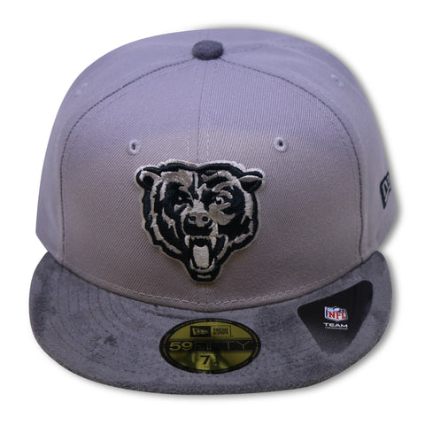 CHICAGO BEARS NEW ERA 59FIFTY FITTED (HOSPITAL BLUE YEEZY 700 V2)