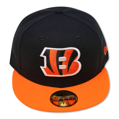 CINCINATTI BENGALS 2-TONE NEW ERA 59FIFTY FITTED
