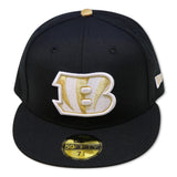 CINCINNATI BENGALS NEW ERA 59FIFTY FITTED (AIR JORDAN 6 RETRO DMP)