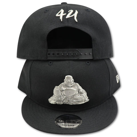BUDDHA BLISS (METALLIC SILVER) NEW ERA 9FIFTY SNAPBACK