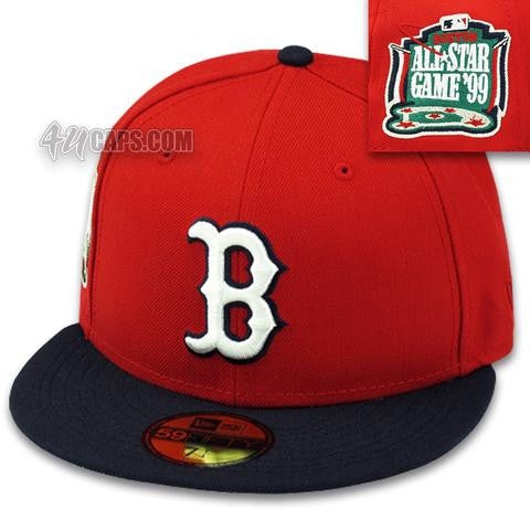 BOSTON RED SOX NEW ERA 1999 ALL STAR GAME NEW ERA 59FIFTY FITTED