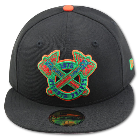 ATLANTA BRAVES NEW ERA 59FIFTY FITTED (AIR JORDAN 8 RETRO AIR RAID II)